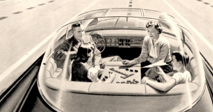 self driving cars 1958